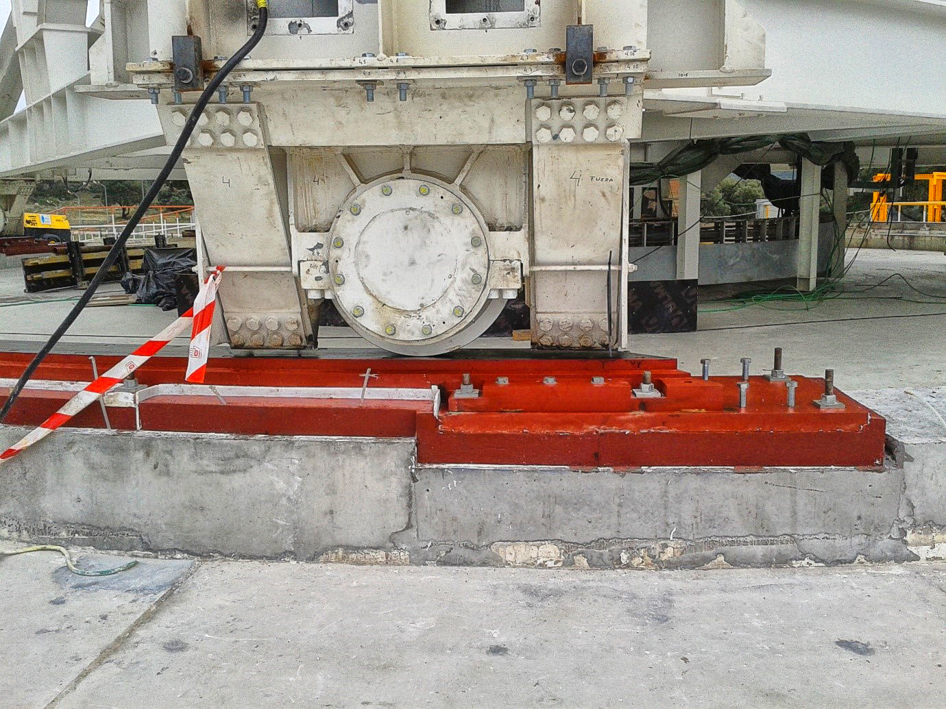 Machinery Installation Using Resins And Grouts