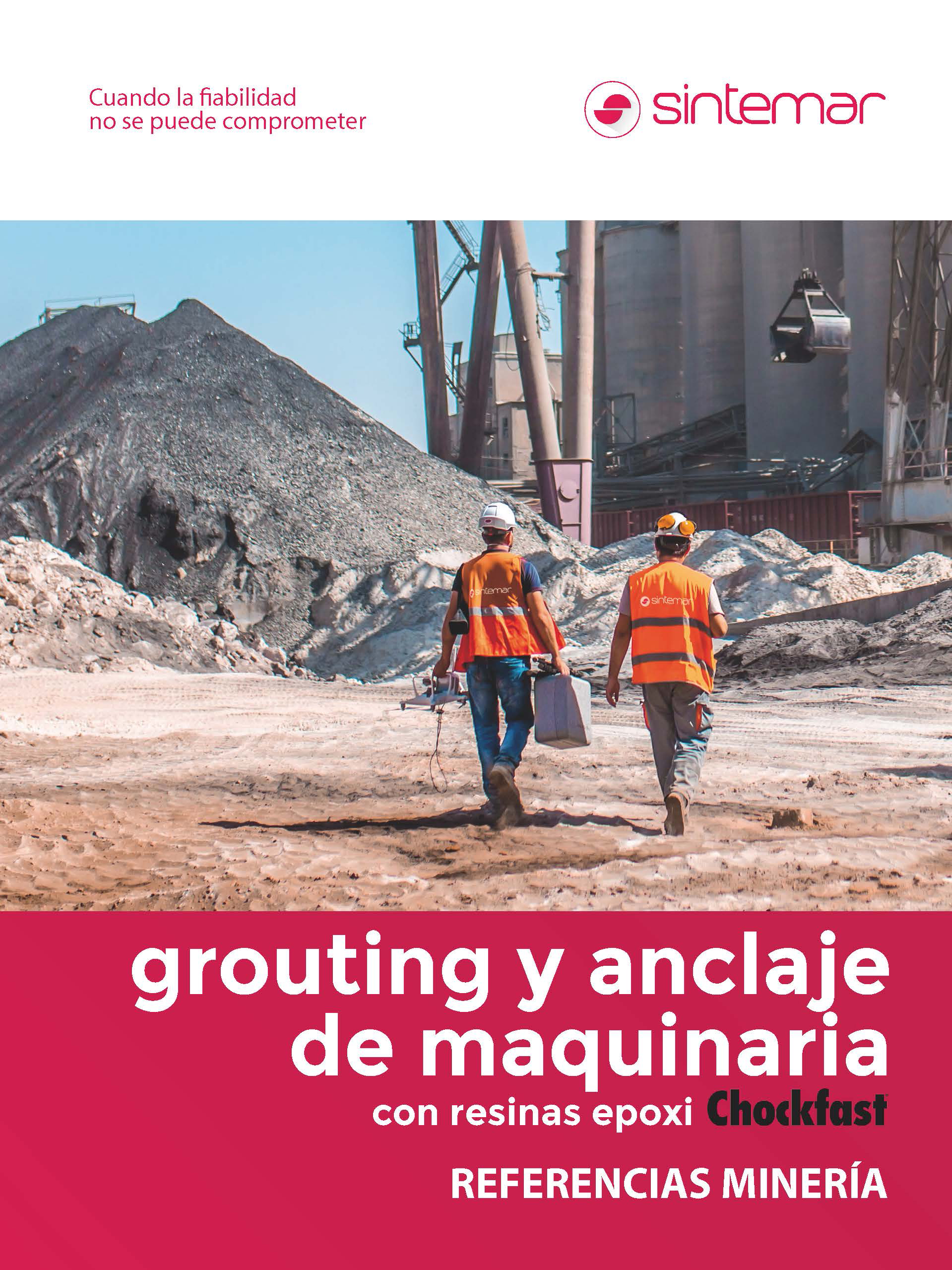 Grouting y anclaje de maquinaria - Referencias minería