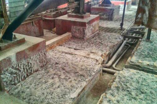 Reparación y protección de cubeto en la sección de electrocincado - Saneado