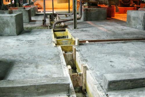 Reparación y protección de cubeto en la sección de electrocincado - Reconstrucción