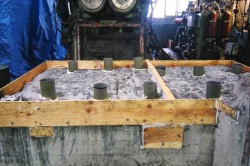 Revamping y grouting de reductor y motor Intermix