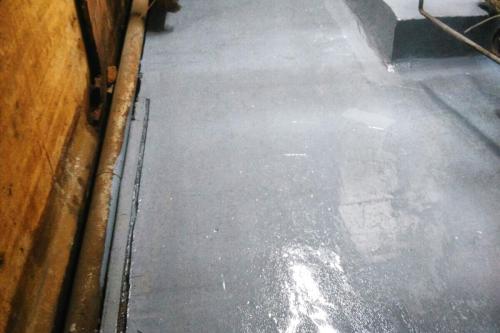 Reparación y protección de cubeto de contención con ácido clorhídrico - Resultado final