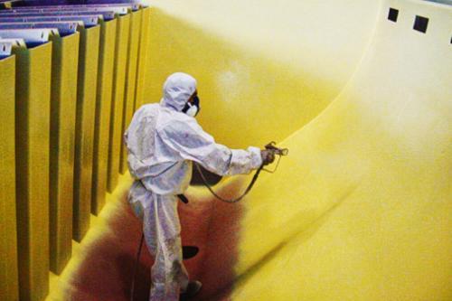 Protección de celdas de flotación con IRATHANE 155 HS