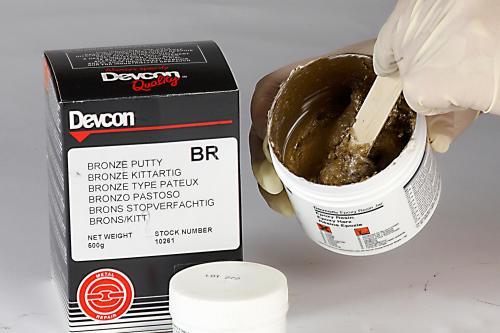 DEVCON pasta Bronce para reparación y reconstrucción