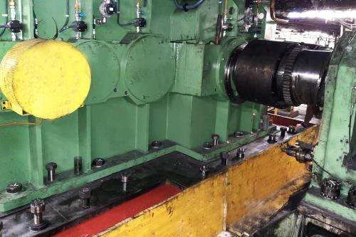Fijación del motor con grout Chockfast Rojo