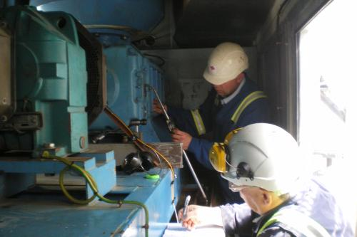 Análisis de averías en whirling de refinería CEPSA