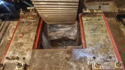 Rehabilitación de cimentaciones de molinos en mina