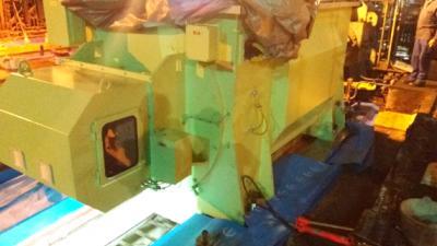 Revamping y grouting de 3 motores del laminador ZM3