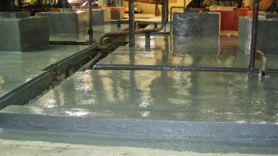 Reparación y protección de cubeto en la sección de electrocincado