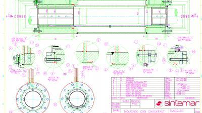 Diseño del asiento de fijación de un portacasquillos de bocina