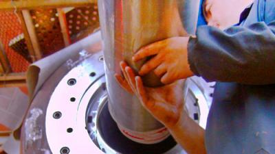 Montaje mecánico y alineación