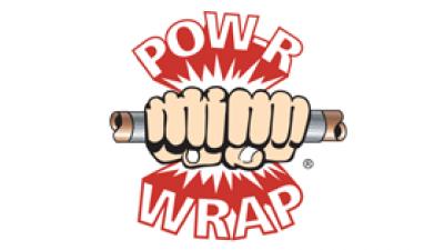 Pow R Wrap logo