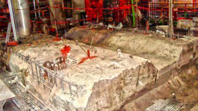 reparación de cimentaciones de maquinaria