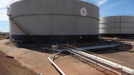Buru Energy Terminal Wyndham - Instalación 2 P43en TK10