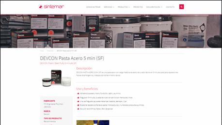 Nueva web Sintemar