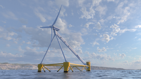 SINTEMAR participa en el montaje del sistema rotativo del innovador aerogenerador X1Wind