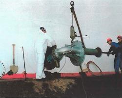 sistema mezcla homogeneización resuspensión petroleo crudo tanques almacenamiento